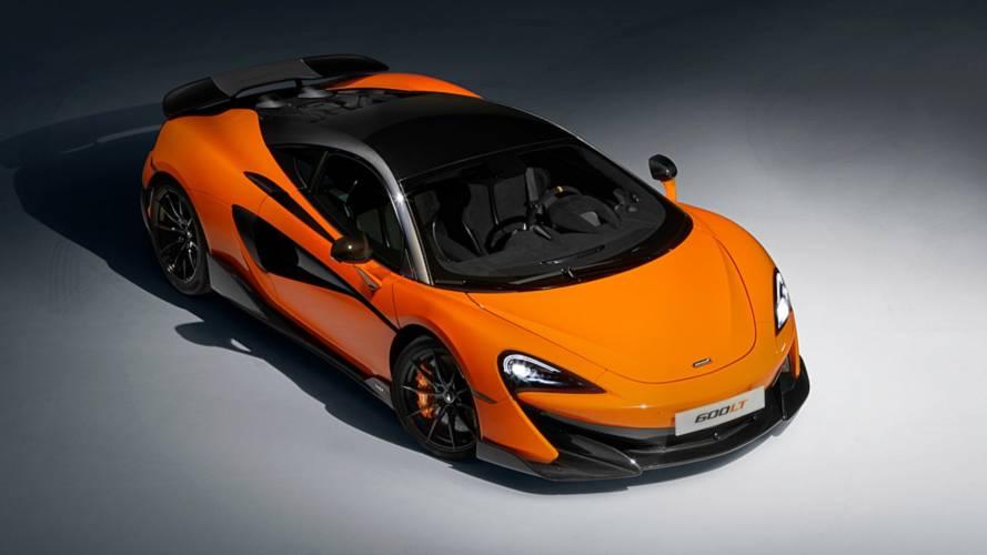 McLaren Orange 600LT starts at £185,500