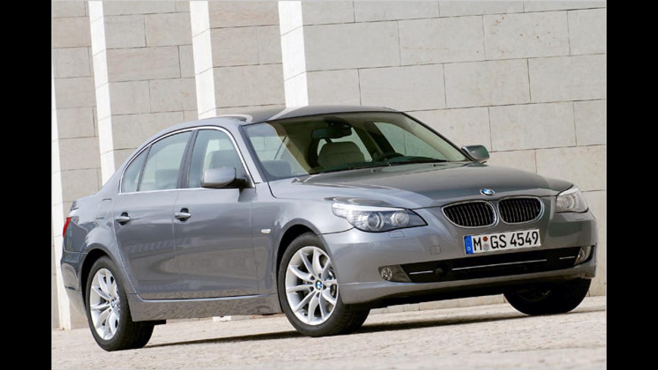 Platz 2 in der oberen Mittelklasse: BMW 5er (25,7 Prozent)