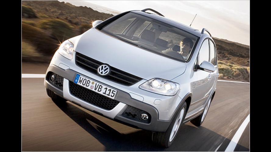Gemischte Vielseitigkeit: VW ist mit dem CrossGolf fertig