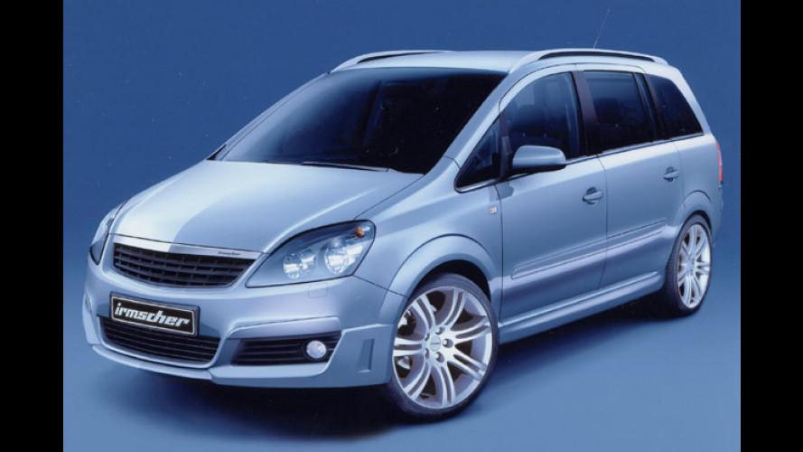 Irmscher tunt den neuen Opel Zafira schon von Anfang an