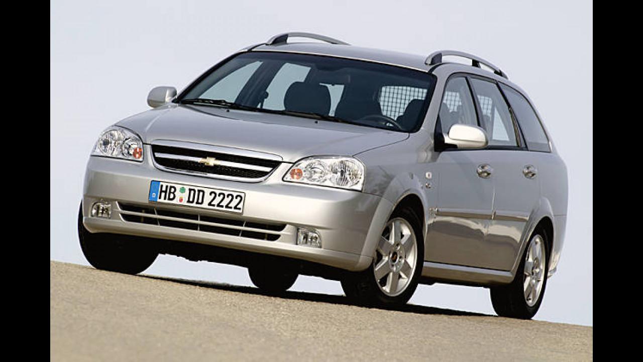 Chevrolet Nubira Wagon 1.6 LPG SE (Autogas)