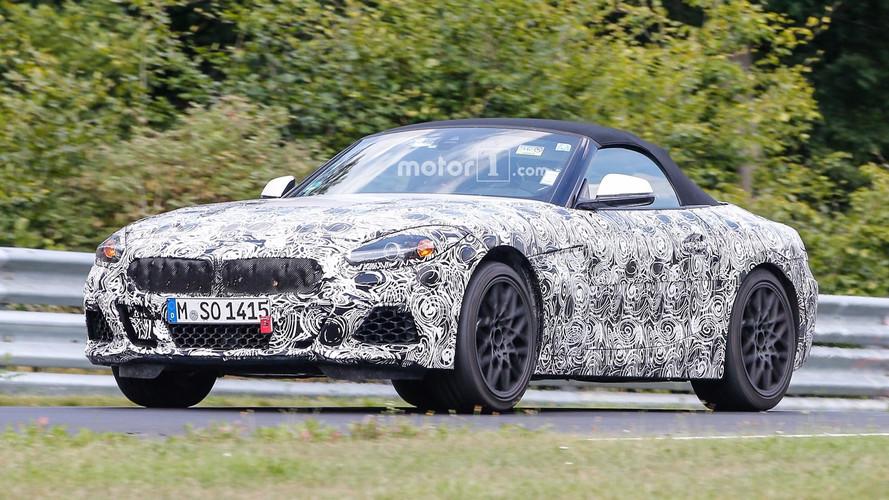 2018 BMW Z4 - Flagra em Nurburgring