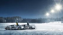 McLaren 570S ice driving experience