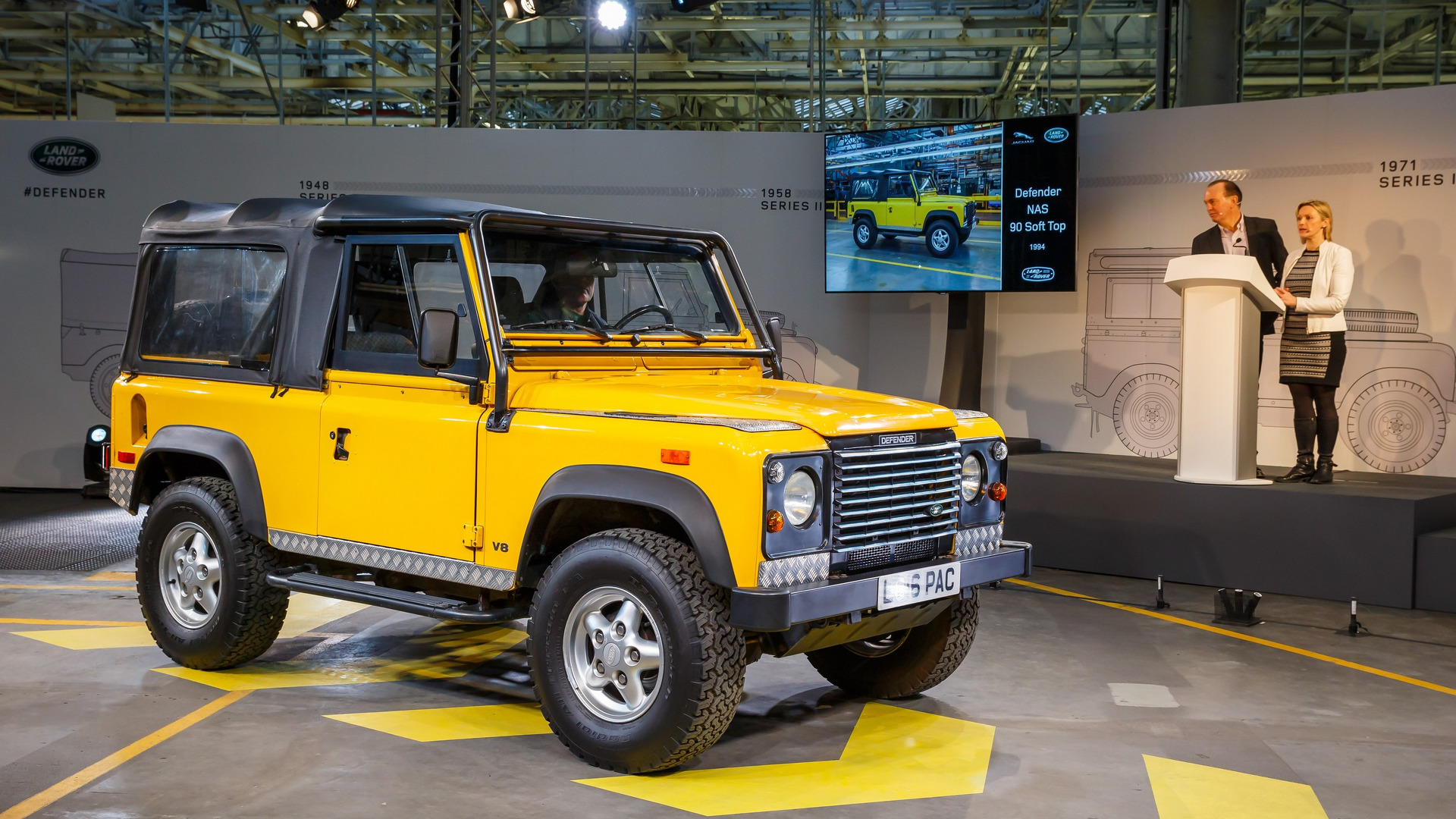 Used Land Rover Defender >> Defender-inspired SUV targets 2020 market launch by chemical company