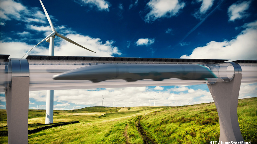 European trains might have to face Hyperloop competition