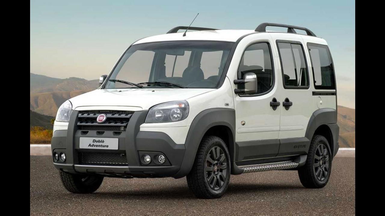 Fiat: série Extreme para Doblò, Idea e Weekend já tem preços divulgados