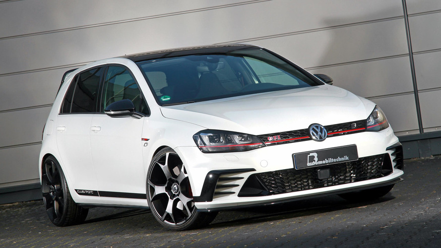 Modifiyeli VW Golf GTI Clubsport S tam 480 bg!