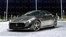 2018 Maserati GranTurismo tasarım yorumu