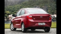 Ford descontinua versões do New Fiesta Sedan e Ka+