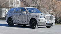 Rolls-Royce Cullinan SUV Spy Photos