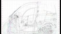 Shell Project M, i primi disegni
