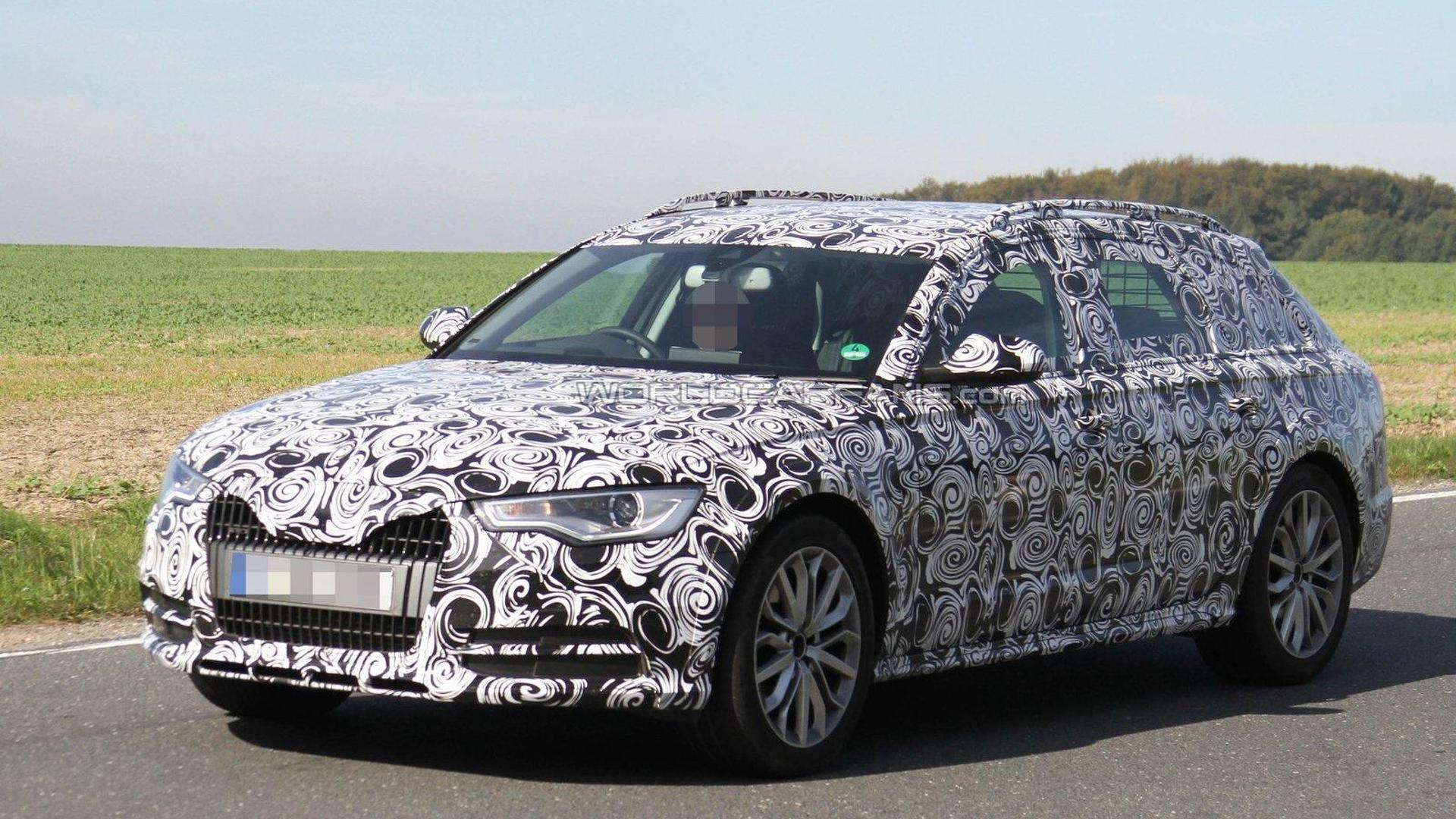 2012 audi a6 avant allroad spied. Black Bedroom Furniture Sets. Home Design Ideas