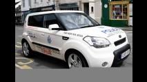Novo Kia Soul vira viatura de Polícia no Reino Unido