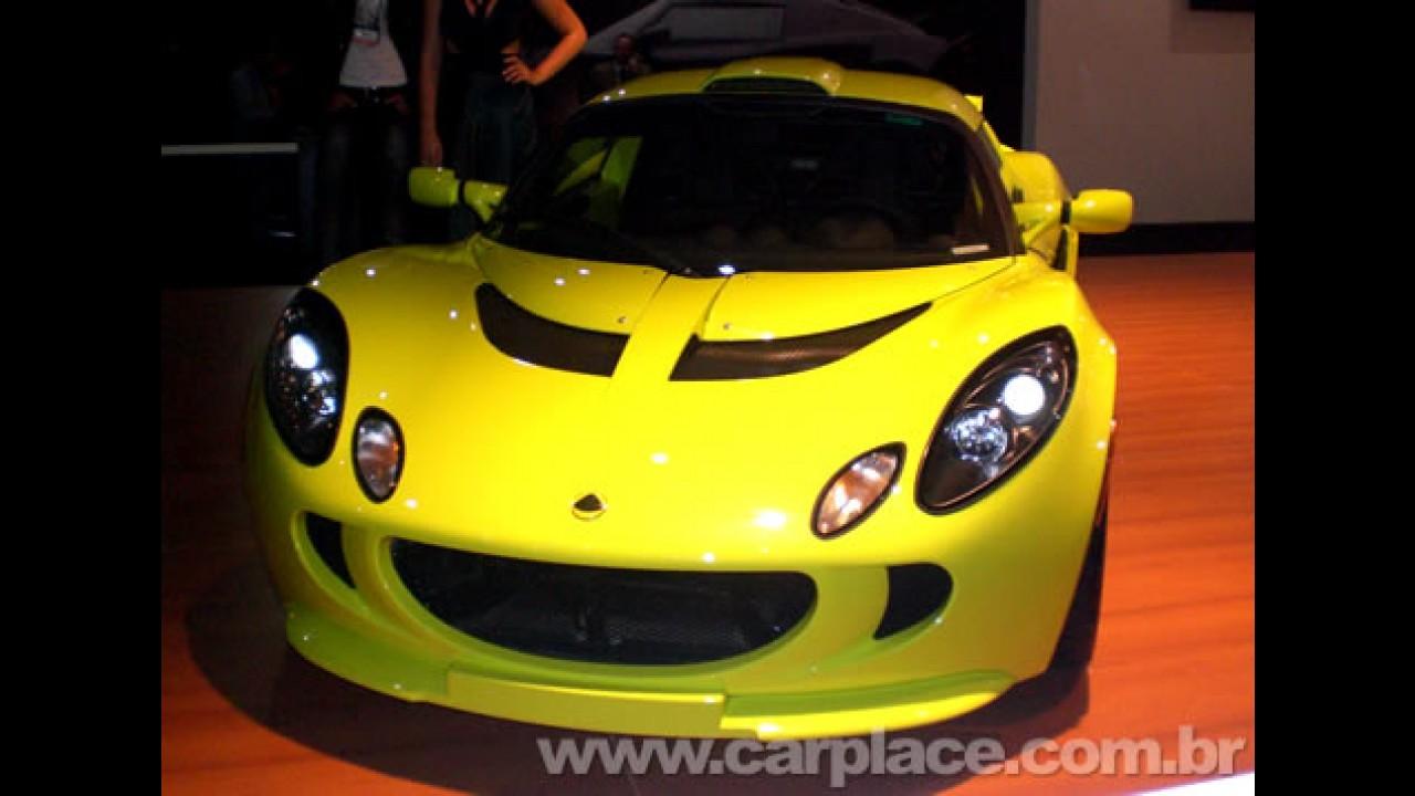 Salão do Automóvel 2008 - Lotus Exige S240 é um dos destaques da marca