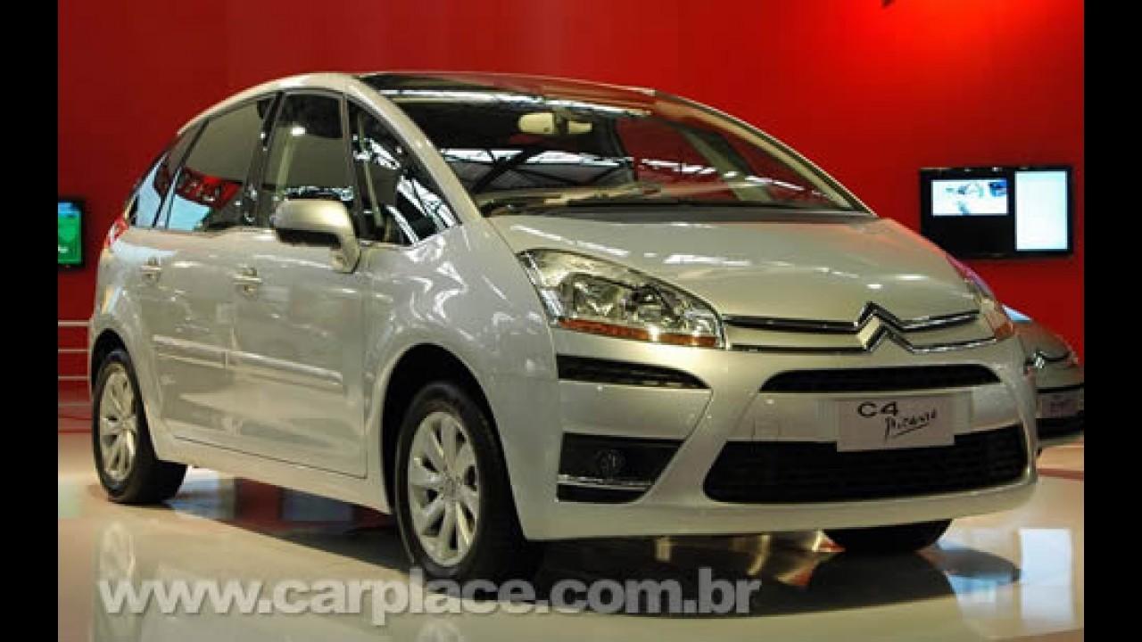 Citroën lança oficialmente a C4 Picasso de 5 lugares no Brasil por R$ 80.700