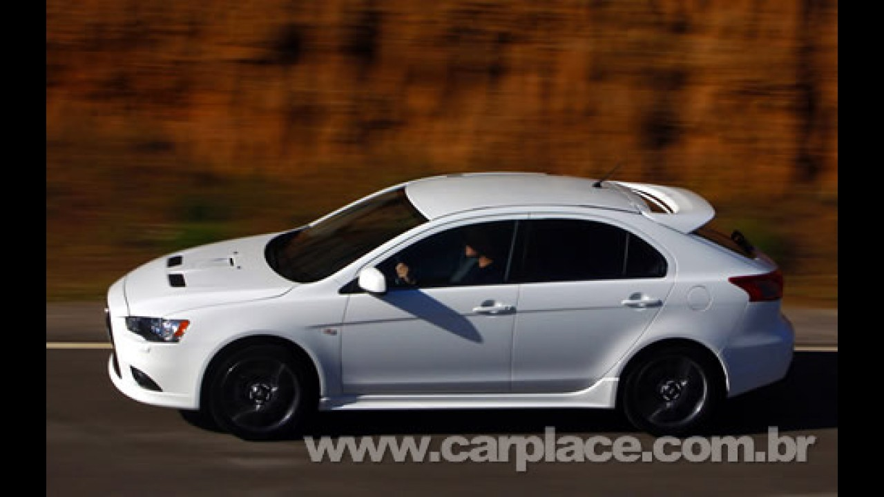 Mitsubishi irá apresentar o novo Lancer Sportback no Salão de Paris