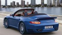 Porsche 911 Targa and Turbo Cabrio Spy Photos