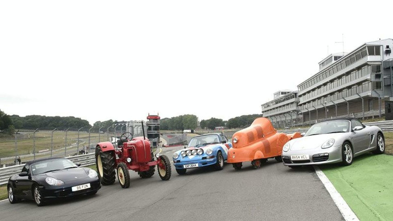 Annual Porsche Festival at Brands Hatch