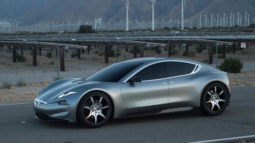 Fisker Emotion Shows Its Swoopy Style