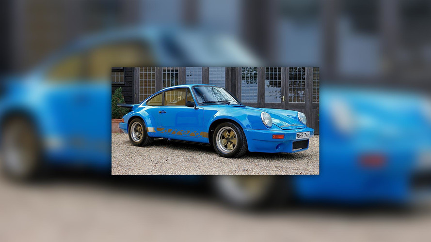 Ultra-Rare 1974 Porsche 911 Carrera 3.0 RS Could Be Yours