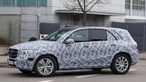 2019 Mercedes GLE spy photo