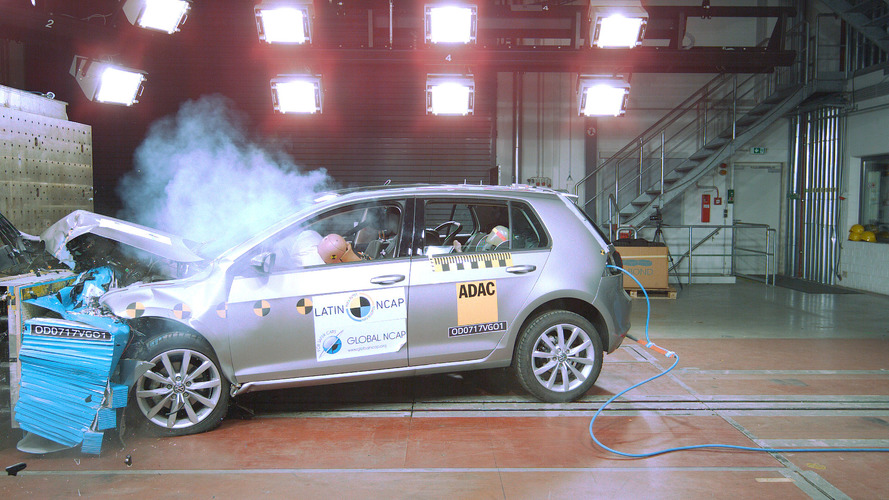 Volkswagen Golf brasileiro recebe 5 estrelas no Latin NCAP
