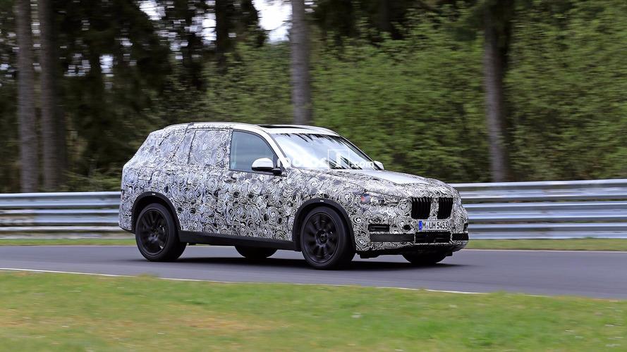 BMW X5 2018: fotos espía en Nürburgring