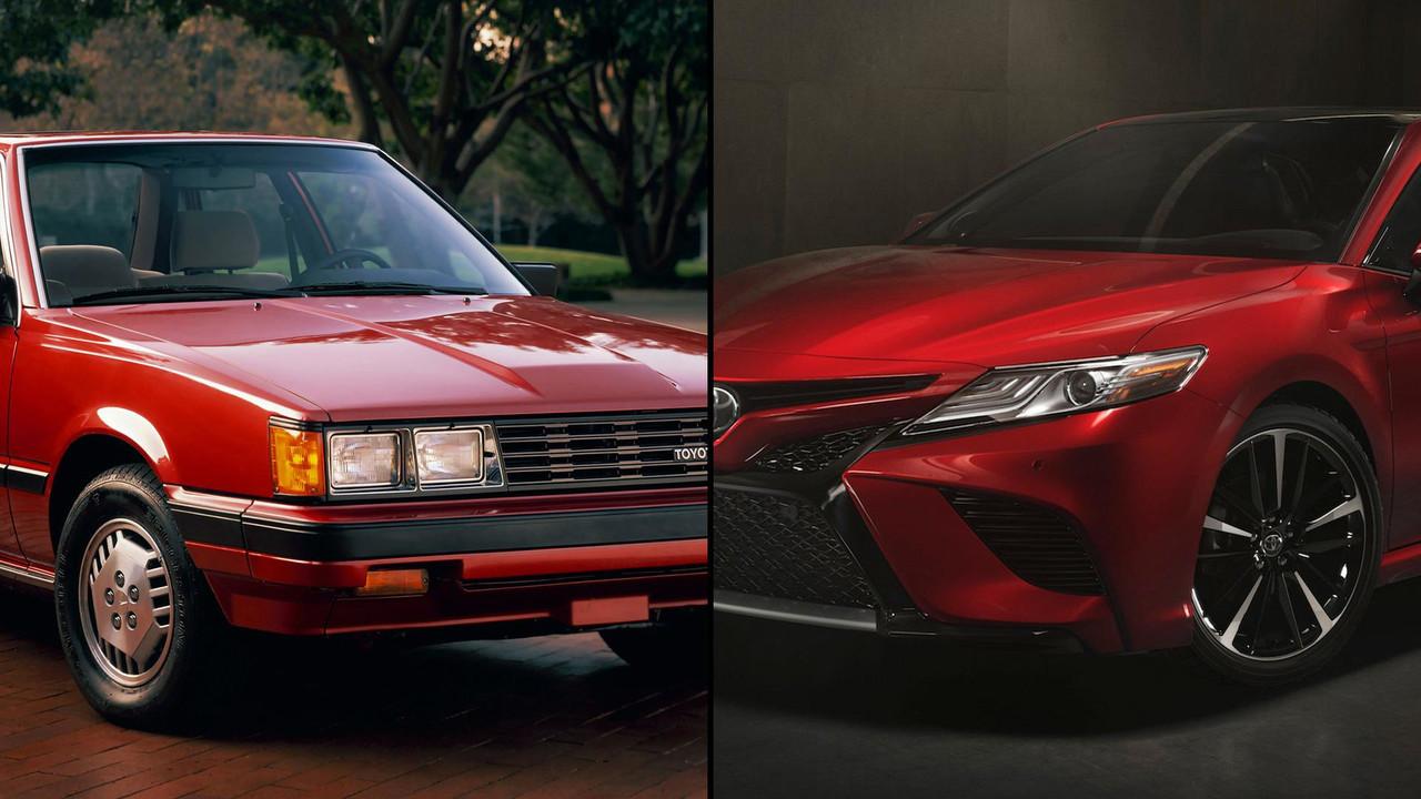 1983 Toyota Camry vs. 2018 Toyota Camry
