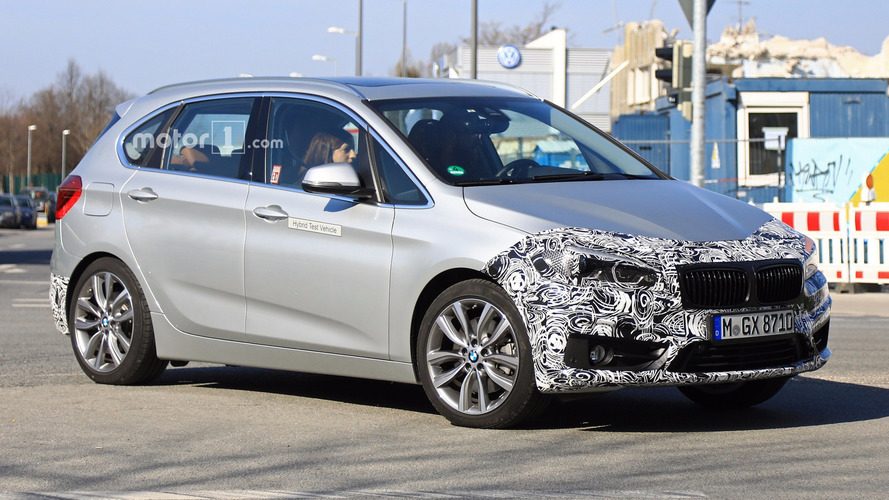 BMW 2 Series Active Tourer Facelift Spied