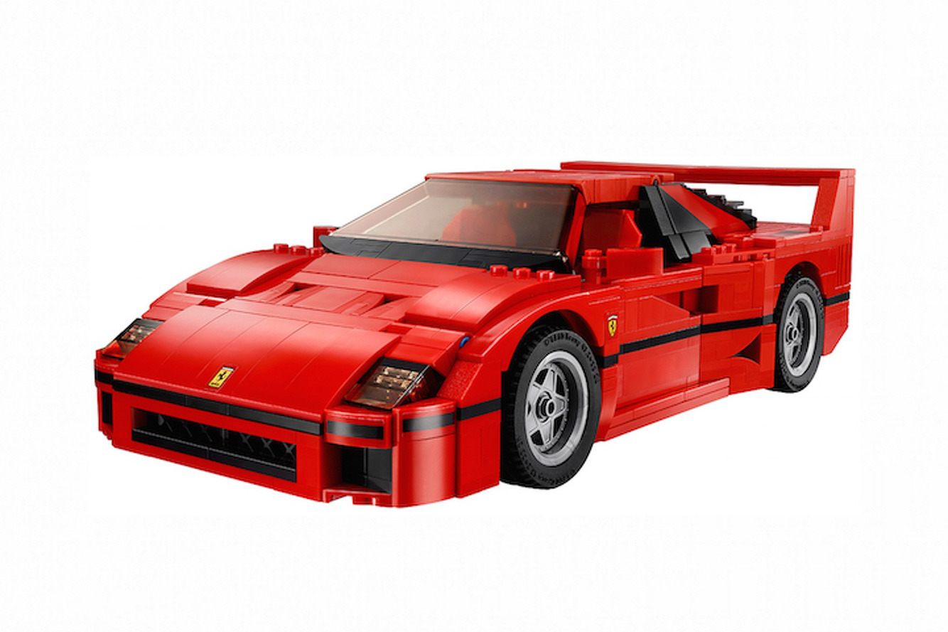This LEGO Ferrari F40 is Probably the Only One You Can Afford