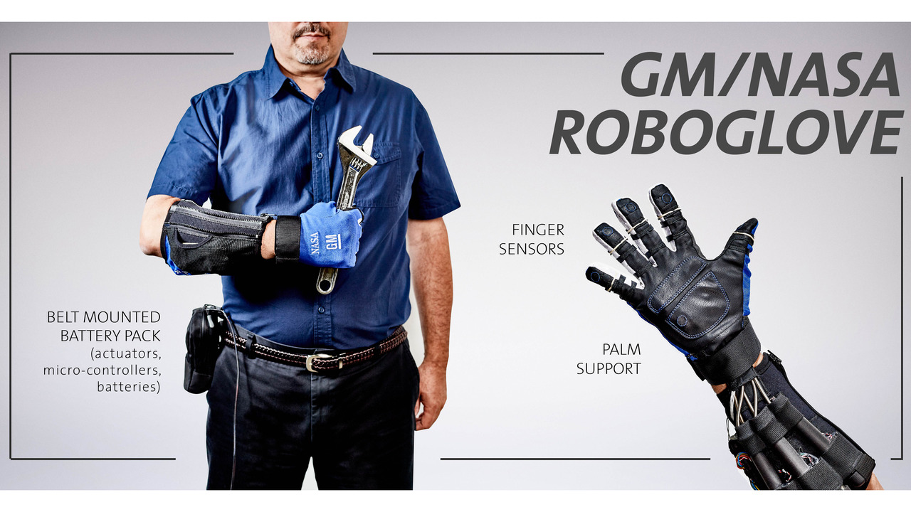 GM NASA Roboglove