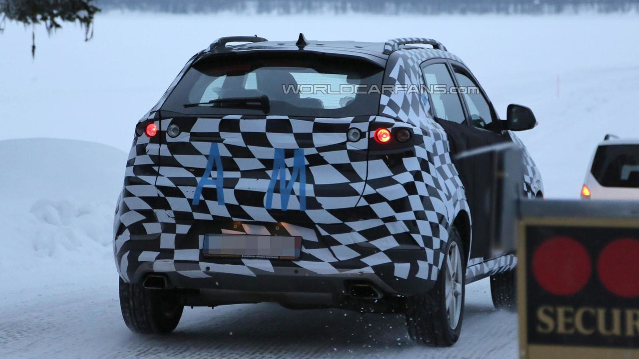 2015 MG CS Crossover spy photo