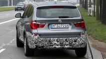 2014 BMW X3 facelift spy photo 15.10.2013