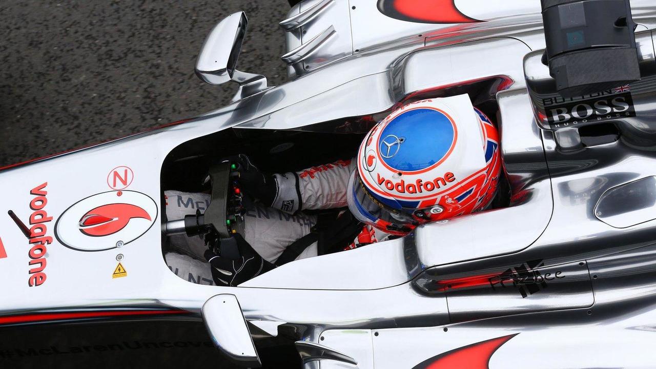 Jenson Button 28.06.2013 British Grand Prix