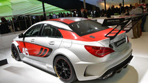 Mercedes CLA 45 AMG Racing Series concept live in Frankfurt 10.9.2013
