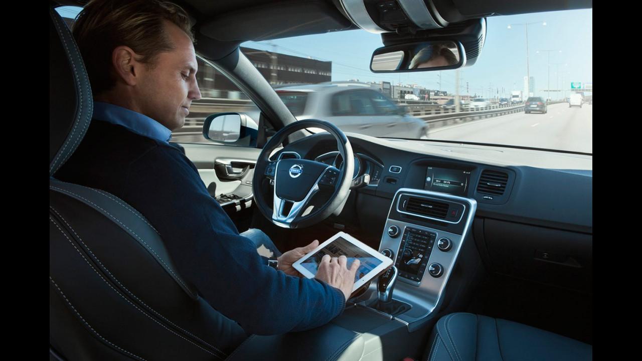 Volvo, guida autonoma