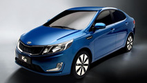 2012 Kia K2 revealed in Shanghai