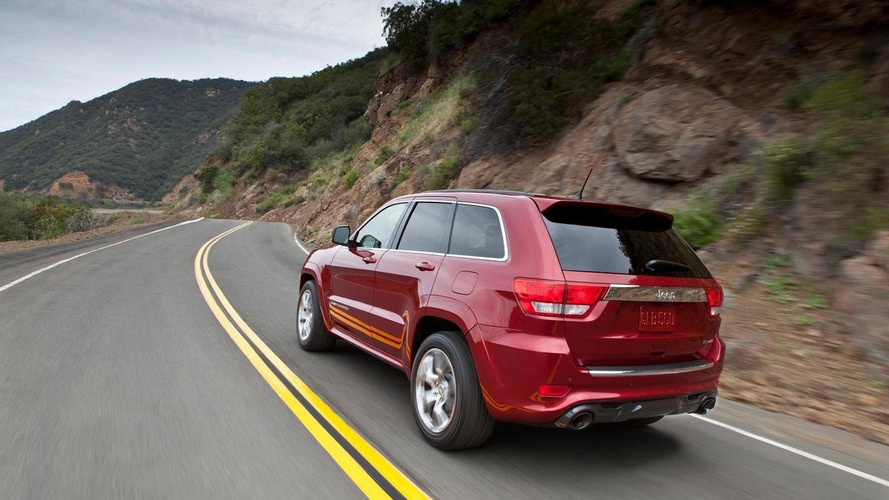 2012 Jeep Grand Cherokee SRT8 debuts in New York