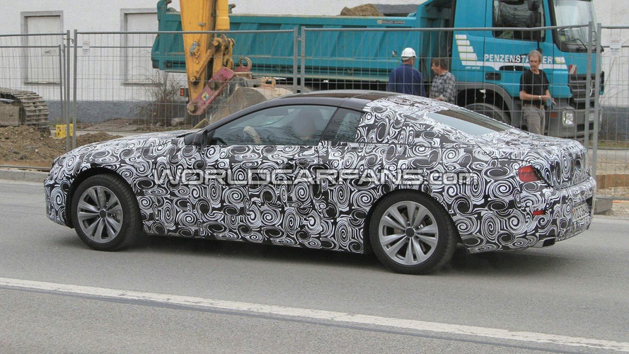 2012 BMW 6 Series Coupe First Spy Photos - Showing its Angel Eyes