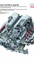 Audi R8 5.2 FSI quattro's V10 Engine