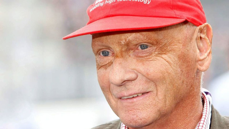 Lauda seeks new sponsor for famous red cap