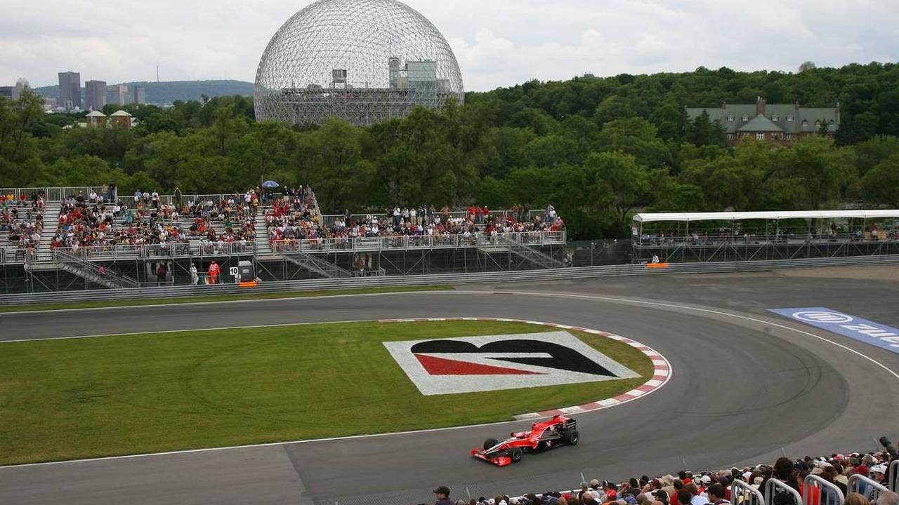 Timo Glock (GER), Virgin Racing, Canadian Grand Prix, 11.06.2010 Montreal, Canada