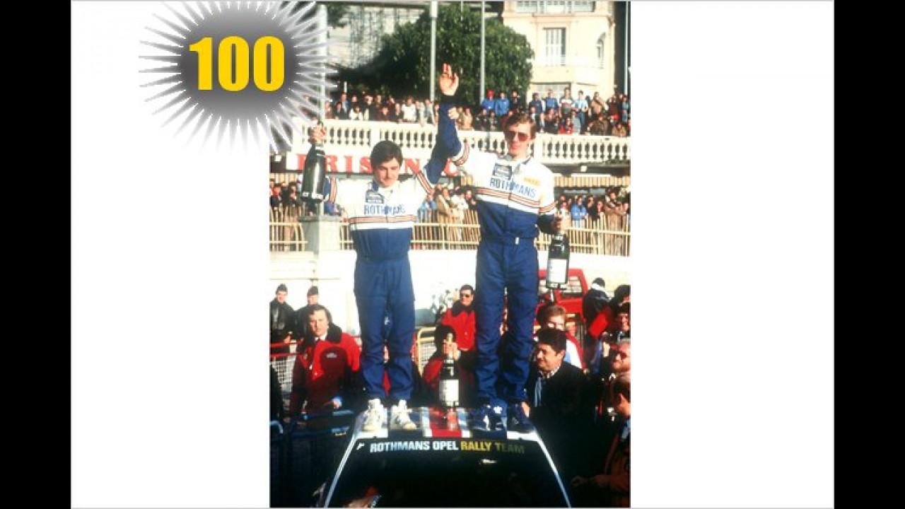 100 Jahre Rallye Monte Carlo