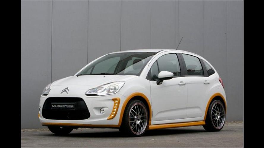 French Dressing: Musketier kleidet den Citroën C3 neu ein