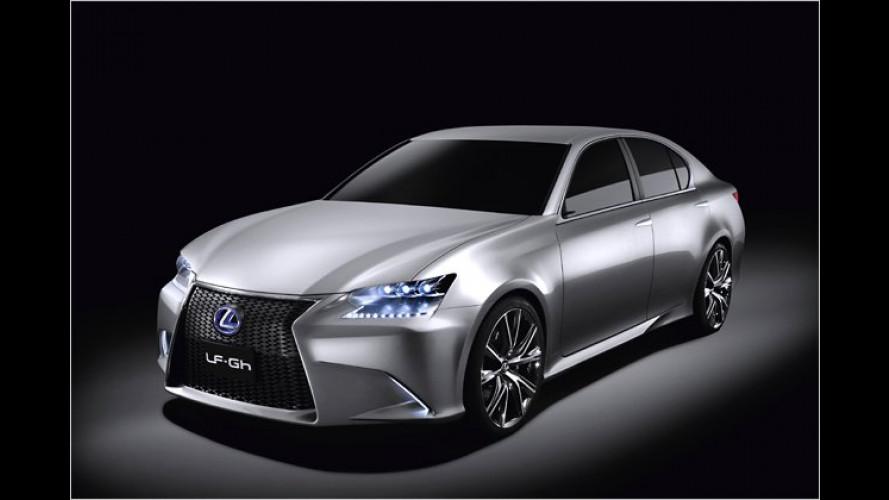 Lexus LF-Gh: Vollhybride mit grimmigem Blick