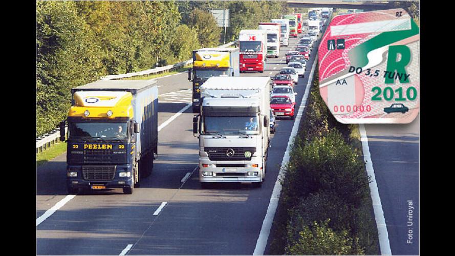 Autobahnmaut in Tschechien: Ab 2010 wird's teurer