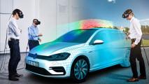 Virtual Engineering Lab Volkswagen, qui nasce la nuova Golf
