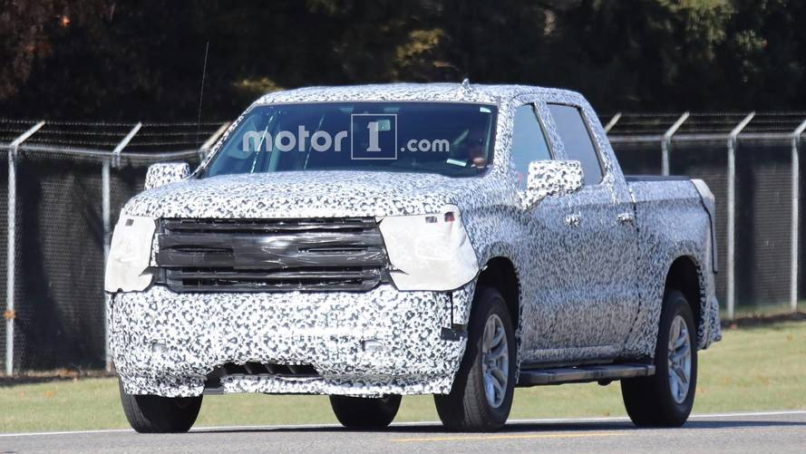 2019 Chevrolet Silverado spy photos