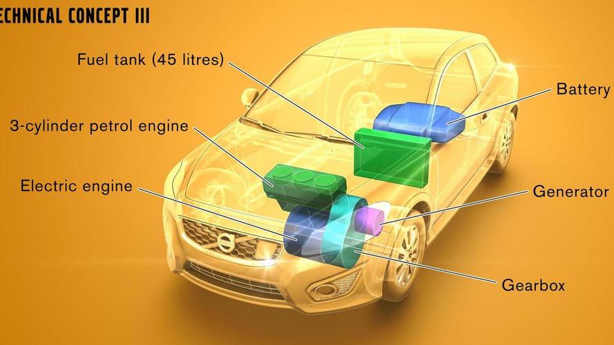 Volvo announces three range extended EV concepts