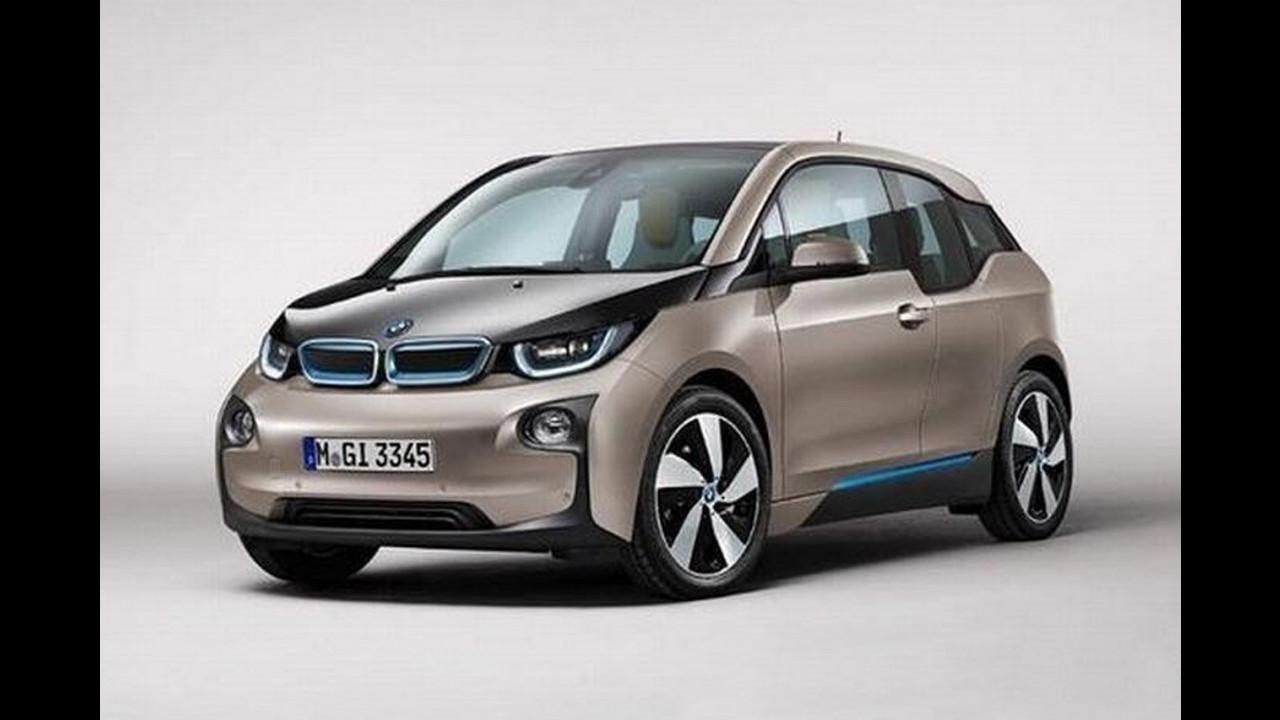 BMW i3, le prime foto